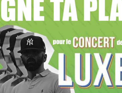 JEU-CONCOURS – GAGNE TA PLACE pour le concert de LUXE le 30/11/2018 à Paris